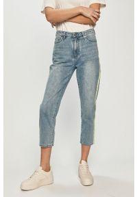 Niebieskie jeansy loose fit Armani Exchange