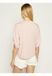 Różowa bluzka DKNY sportowa