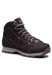 Brązowe buty trekkingowe MEINDL trekkingowe, Gore-Tex