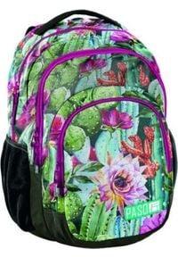 Paso Plecak szkolny Tropical Flower (18-2706LO)