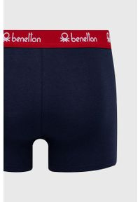 United Colors of Benetton - Bokserki. Kolor: niebieski. Materiał: bawełna, materiał