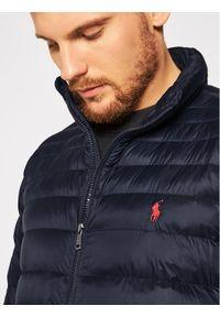 Niebieska kurtka zimowa Polo Ralph Lauren polo