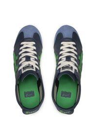 Onitsuka Tiger - Sneakersy ONITSUKA TIGER - Mexico 66 1183A201 Iron Navy/Cilantro 405. Okazja: na co dzień. Kolor: niebieski. Materiał: skóra, zamsz. Szerokość cholewki: normalna. Styl: sportowy, casual