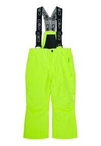 CMP Spodnie narciarskie 3W15994 Żółty Regular Fit. Kolor: żółty. Sport: narciarstwo