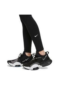 Legginsy damskie Nike Dri-FIT One DD0252. Materiał: skóra, poliester, materiał. Technologia: Dri-Fit (Nike). Wzór: gładki. Sport: fitness