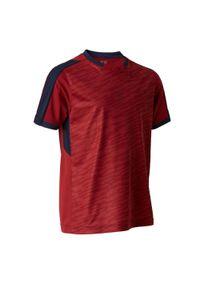 Koszulka do piłki nożnej KIPSTA z krótkim rękawem, na lato