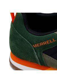 Zielone półbuty Merrell