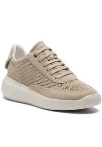 Geox - Sneakersy GEOX - D Rubidia A D84APA 00022 C6738 Lt Taupe. Okazja: na co dzień. Kolor: beżowy. Materiał: skóra, zamsz. Szerokość cholewki: normalna. Sezon: lato. Styl: casual