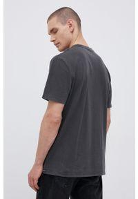 Volcom - T-shirt bawełniany. Kolor: szary. Materiał: bawełna. Wzór: nadruk