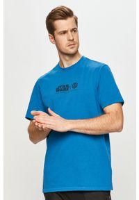 Element - T-shirt x Star Wars. Okazja: na co dzień. Kolor: fioletowy. Wzór: motyw z bajki. Styl: casual