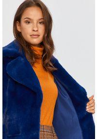 Niebieska kurtka Bomboogie casualowa, na co dzień, bez kaptura