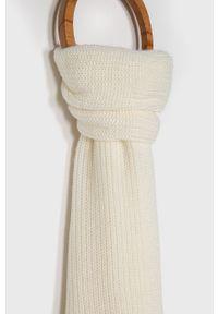Biały szalik Polo Ralph Lauren