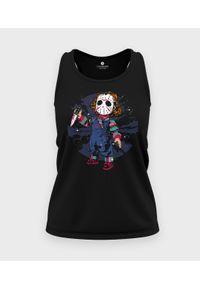 MegaKoszulki - Koszulka damska bez rękawów Chucky. Materiał: bawełna. Długość rękawa: bez rękawów