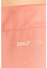 Różowe szorty Only Play casualowe, na co dzień
