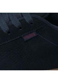 Etnies - Sneakersy ETNIES - Kingpin 4101000091 Navy/Red/Gum. Kolor: niebieski. Materiał: skóra, zamsz, materiał. Szerokość cholewki: normalna