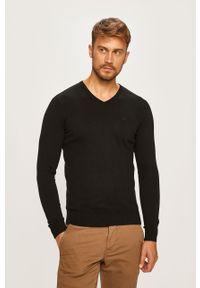 Czarny sweter Tom Tailor Denim na co dzień, casualowy