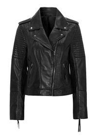 Czarna kurtka Cellbes elegancka, z aplikacjami