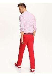 Czerwona koszula TOP SECRET długa, elegancka #5