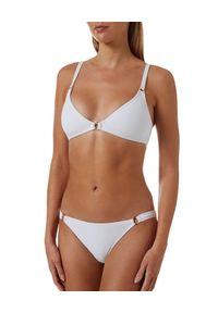 Melissa Odabash - MELISSA ODABASH - Biały top od bikini Montenegro. Kolor: biały. Materiał: tkanina