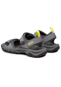 keen - Sandały KEEN - Targhee III Open Toe H2 1024866 Steel Grey/Evening Primrose. Nosek buta: otwarty. Kolor: szary. Materiał: materiał. Sezon: lato. Sport: turystyka piesza