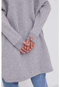 Answear Lab - Bluza. Kolor: szary. Długość rękawa: długi rękaw. Długość: długie. Styl: wakacyjny