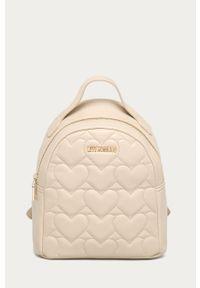 Beżowy plecak Love Moschino gładki #5