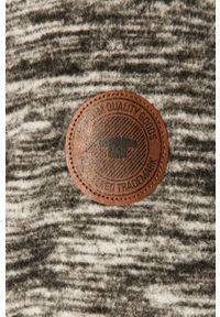 Szara bluza rozpinana Tom Tailor na co dzień, casualowa