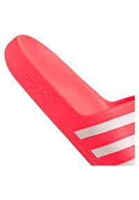 Adidas - Klapki damskie basenowe adidas Adilette Aqua FW4292. Wzór: aplikacja. Styl: klasyczny