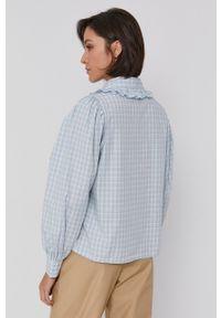 Levi's® - Levi's - Koszula bawełniana. Okazja: na co dzień, na spotkanie biznesowe. Kolor: niebieski. Materiał: bawełna. Długość rękawa: długi rękaw. Długość: długie. Styl: biznesowy, casual