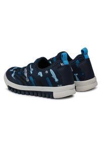 Bibi - Sneakersy BIBI - Roller New 679567 Print/Submarine. Kolor: niebieski. Materiał: materiał. Wzór: nadruk