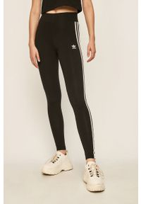 Czarne legginsy adidas Originals