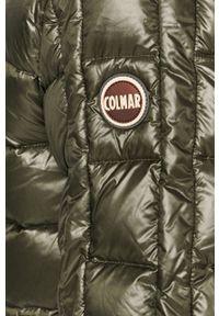 Zielona kurtka Colmar na co dzień, z kapturem