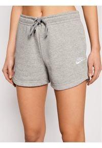 Nike Szorty sportowe Sportswear Essential CJ2158 Szary Standard Fit. Kolor: szary