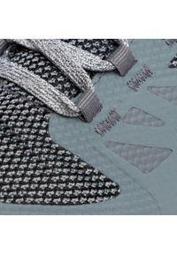 Szare buty trekkingowe salomon Gore-Tex, na co dzień, trekkingowe