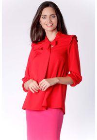 Czerwona bluzka wizytowa Nommo