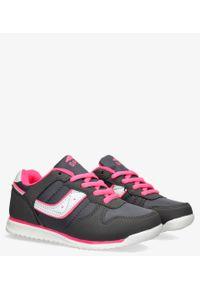 Casu - Szare buty sportowe sznurowane casu ld11c-14. Kolor: szary