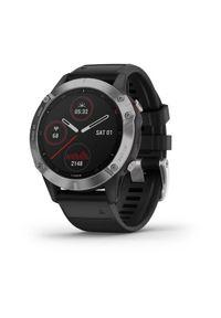 Srebrny zegarek GARMIN sportowy, cyfrowy