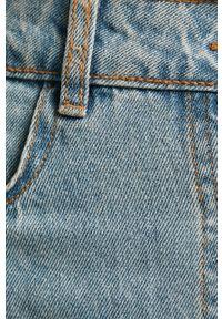 Niebieska spódnica Noisy may casualowa, na co dzień