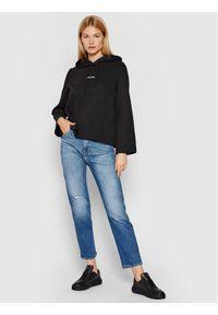 Calvin Klein Bluza Mini K20K203106 Czarny Relaxed Fit. Kolor: czarny