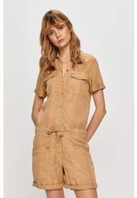 Kombinezon Pepe Jeans casualowy, krótki, na co dzień, z krótkim rękawem