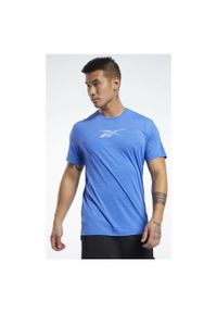 Koszulka treningowa męska Reebok Move FK6350. Materiał: elastan, materiał, nylon. Długość: długie. Sport: fitness