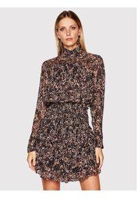Sukienka IRO prosta, na co dzień, w kolorowe wzory, casualowa