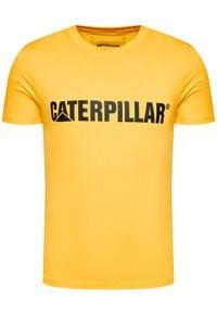 CATerpillar T-Shirt 2511242 Żółty Regular Fit. Kolor: żółty #5