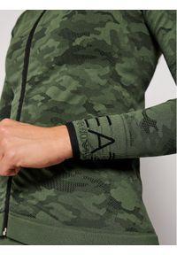 Zielona bluza sportowa EA7 Emporio Armani