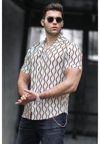 Wielokolorowa koszula IVET na co dzień, elegancka