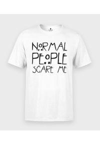 MegaKoszulki - Koszulka męska Normal people. Materiał: bawełna