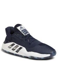 Niebieskie buty do koszykówki Adidas