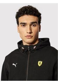 Puma Bluza Ferrari Race 599838 Czarny Regular Fit. Kolor: czarny