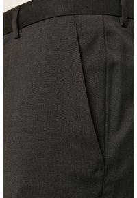 Szare spodnie Hugo