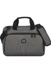 Szara torba na laptopa Delsey